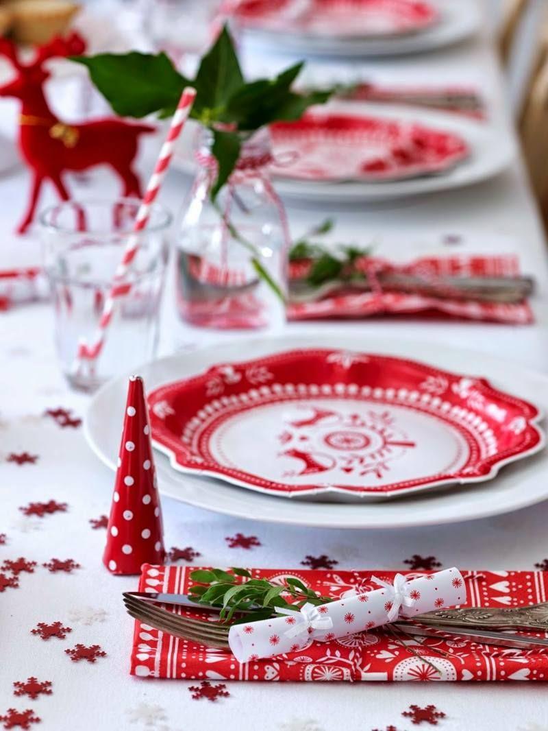 Decoration De Table De Noel Pour Une Atmosphere Magique Christmas