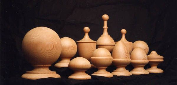 Best European Woodturning Newel Caps Finials Ceramique 400 x 300