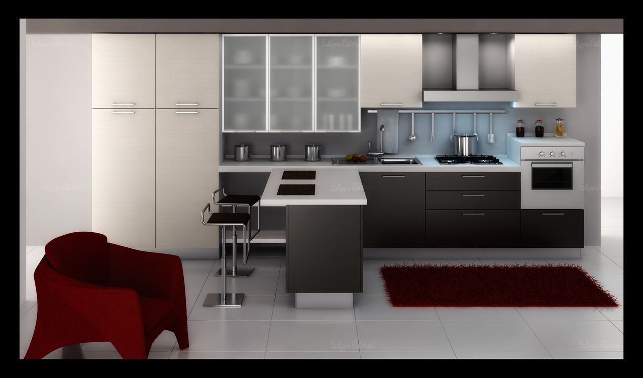 Exellent Contemporary Kitchen Cabinets Design Kitchens Ideas I On
