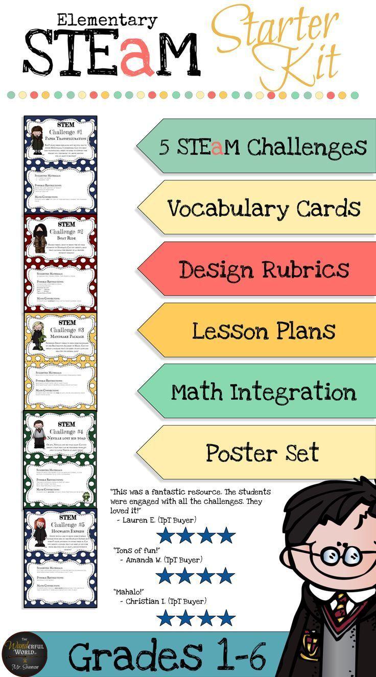 Harry Potter Themed Classroom STEM/STEAM Starter Kit