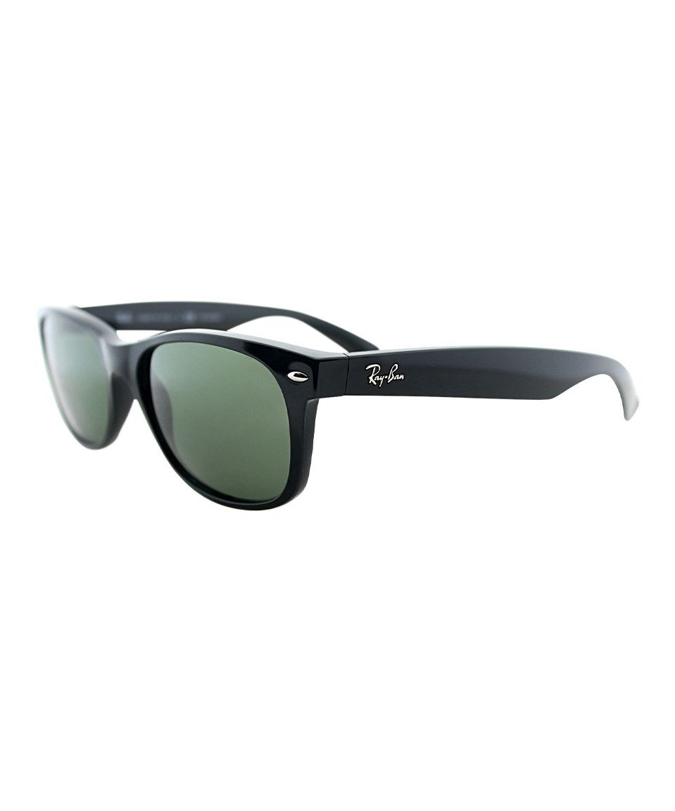 Another great find on #zulily! Black & Gray Wayfarer Sunglasses by Ray-Ban #zulilyfinds