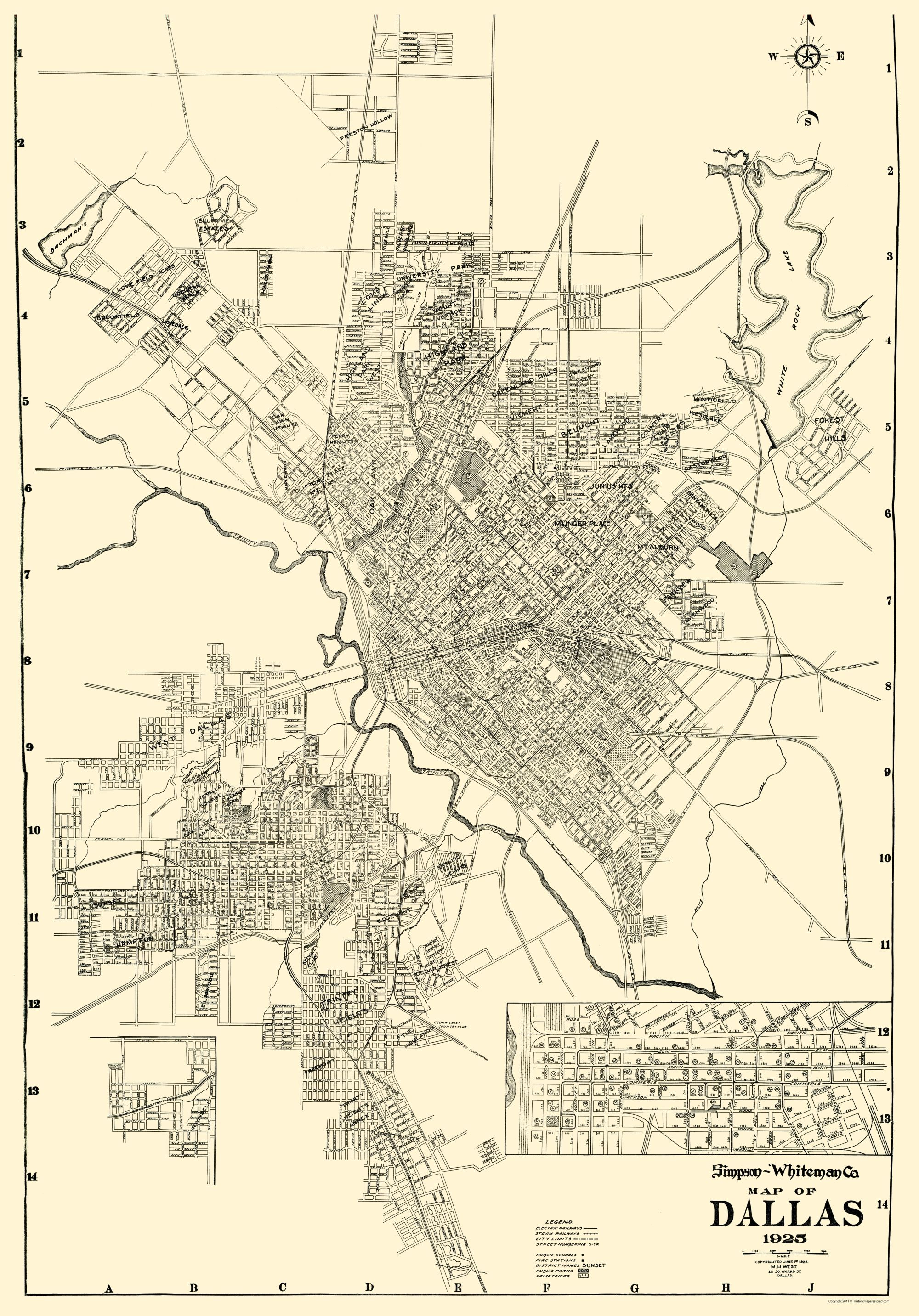 Dallas Texas - West 1925 - 23 x 32.95   Dallas texas, Dallas ... on plano texas map, mckinney texas map, alpine texas map, florida map, san diego map, irving texas map, highland village texas map, denton texas map, frisco texas map, north texas map, little elm texas map, oak cliff texas map, cleburne texas map, dallas tx, usa map, roanoke texas map, chicago map, oklahoma texas map, houston texas map, flagstaff arizona map,
