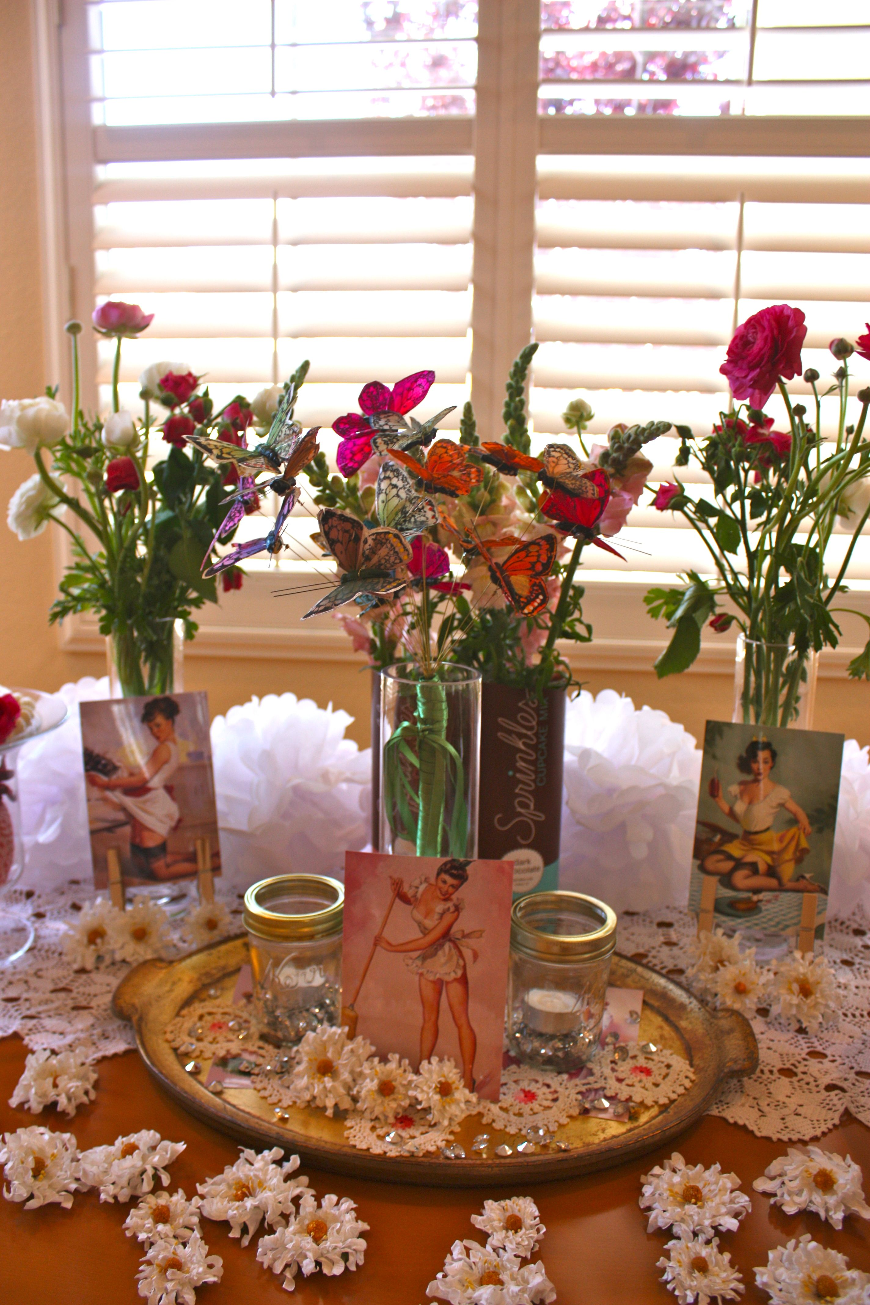 not your average housewife bridal shower decorations