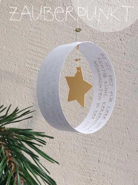 Weihnachtspost - einmal anders.... { Mobile- DIY mit Freebie } | *ZAUBERPUNKT* | Bloglovin'