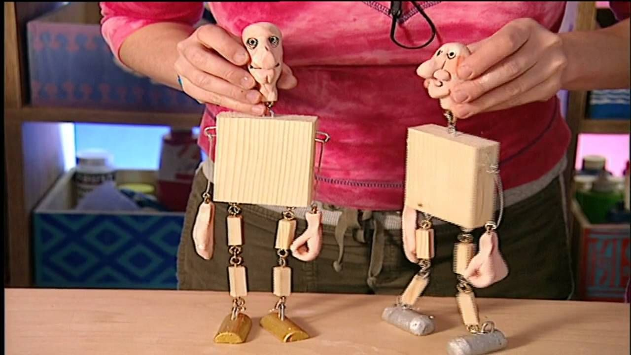 basteln mit kindern marionetten selber bauen zuk nftige projekte pinterest selber bauen. Black Bedroom Furniture Sets. Home Design Ideas