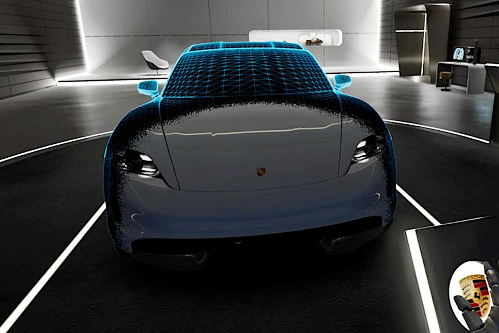How Porsche Is Using Virtual Reality To Sell The Taycan