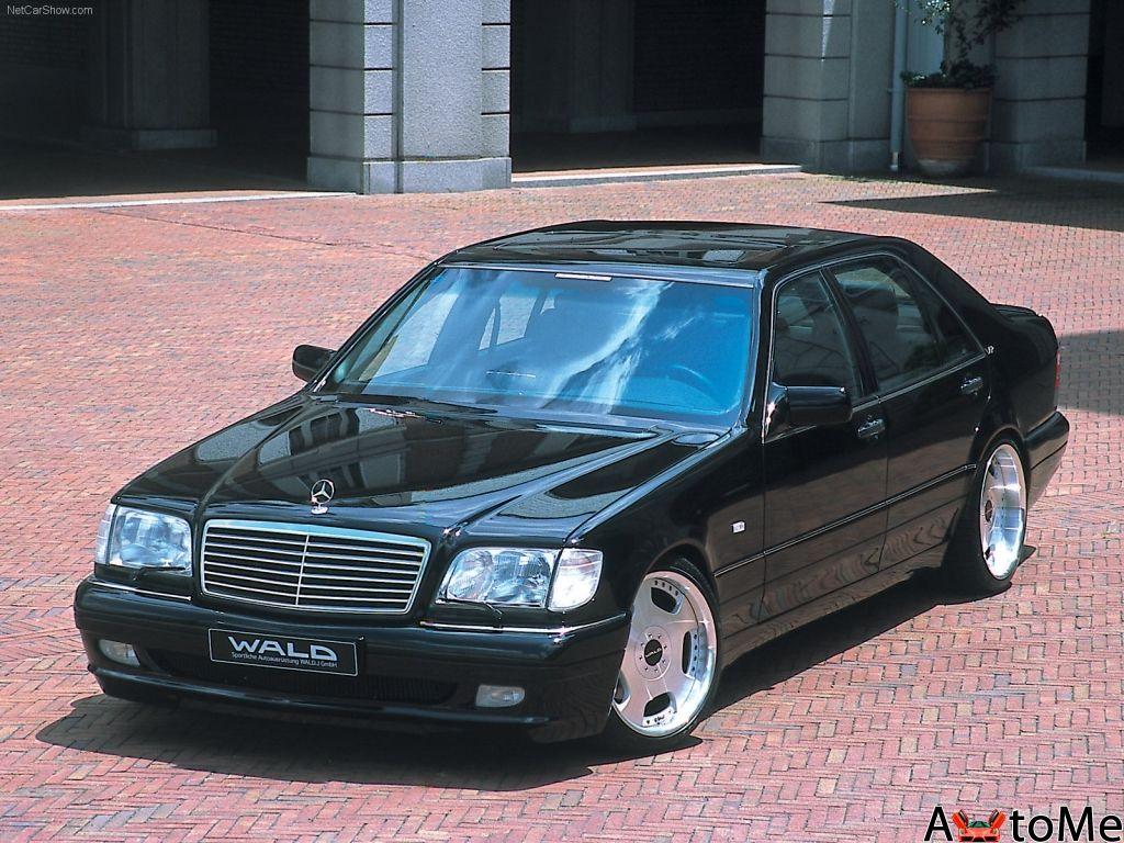 2001 wald mercedes benz s class benz s class w140