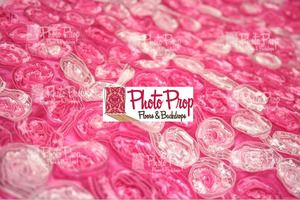 We are pleased to introduce our fabric line to the PPFB Family!    Hot Pink Rose Ribbon Taffeta Fabric for Backdrops or Bean Bag Covers - 2 YARDS    Great for use as a photography backdrop or as a covers over your beanbag for newborn posing!