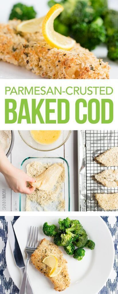 Photo of Recipe: Parmesan-Crusted Baked Cod