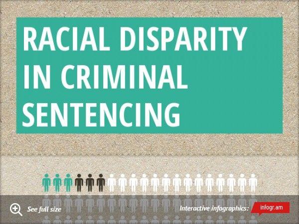 Infographic: Racial Disparity in criminal sentencing