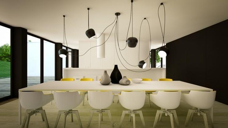 Kreativität und Farbkontrast, 50 elegante Ideen Haus - deko ideen küche