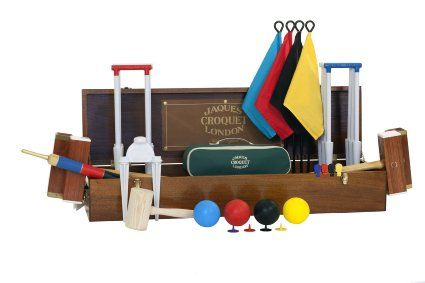 Croquet Set Hurlingham 4 Player Luxury Jaques Of