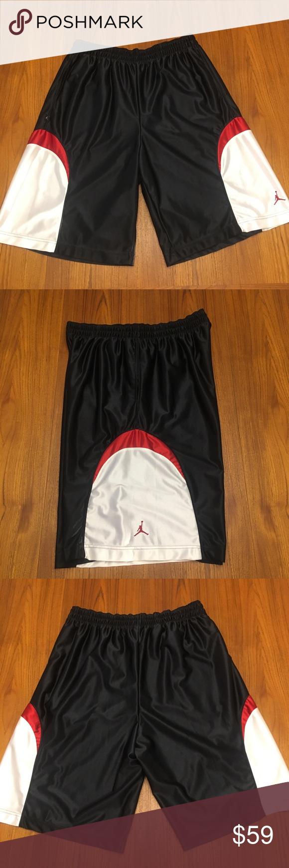 Sold Rare Nwot Vintage Jordan Shorts 2007 Xl Jordan Shorts Vintage Nike Shorts