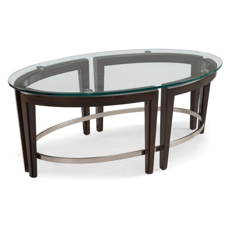 Magnussen Carmen Oval Cocktail Table - T3110-47