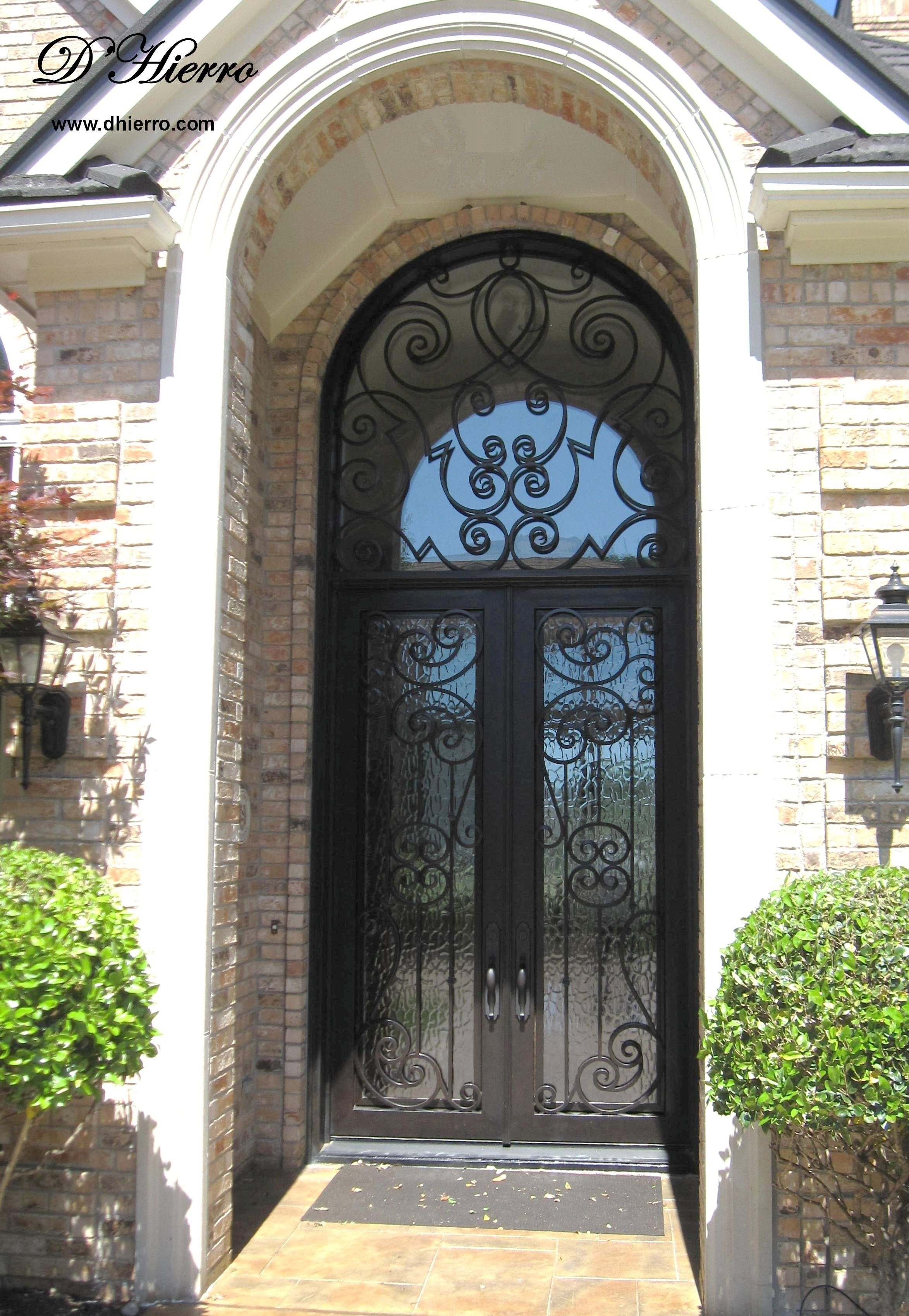 Id 606 102 Double Iron Door With Transom Kapilar Demir