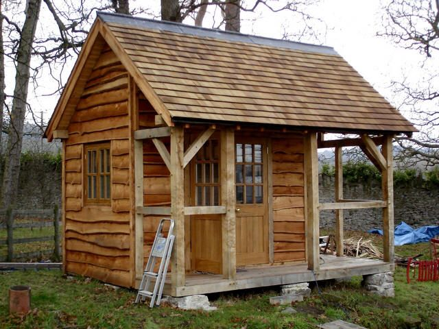 Wood Cabin Sheds Check out our great stuff at http