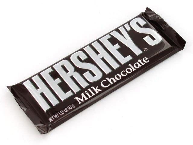 candy bars | Hershey's 1.55 oz Milk Chocolate Candy Bar ...