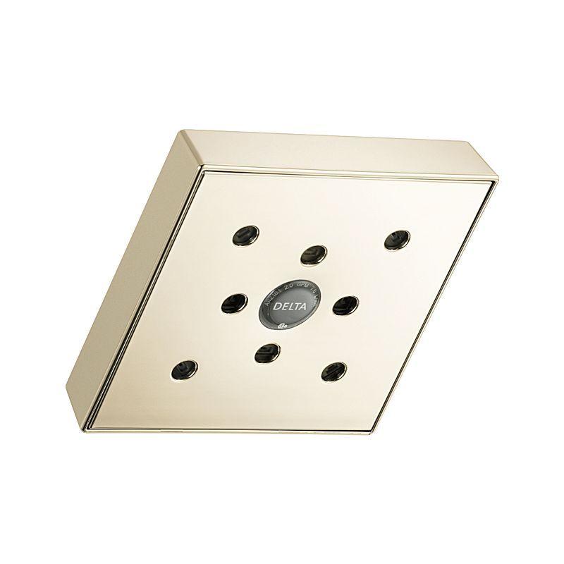 RP70171PN Dryden™ H2Okinetic Raincan Single-Setting Shower Head : Bath Products : Delta Faucet
