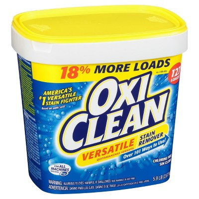Oxiclean Versatile Stain Remover 5 9lb Oxiclean Stain