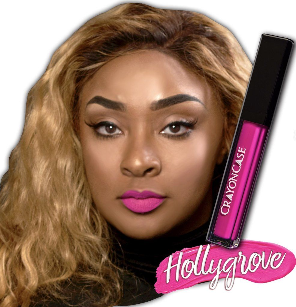 """The Crayon Case matte lip in the shade """"Hollygrove"""