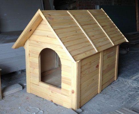 Как сделать будку для собаки своими руками: чертежи 19