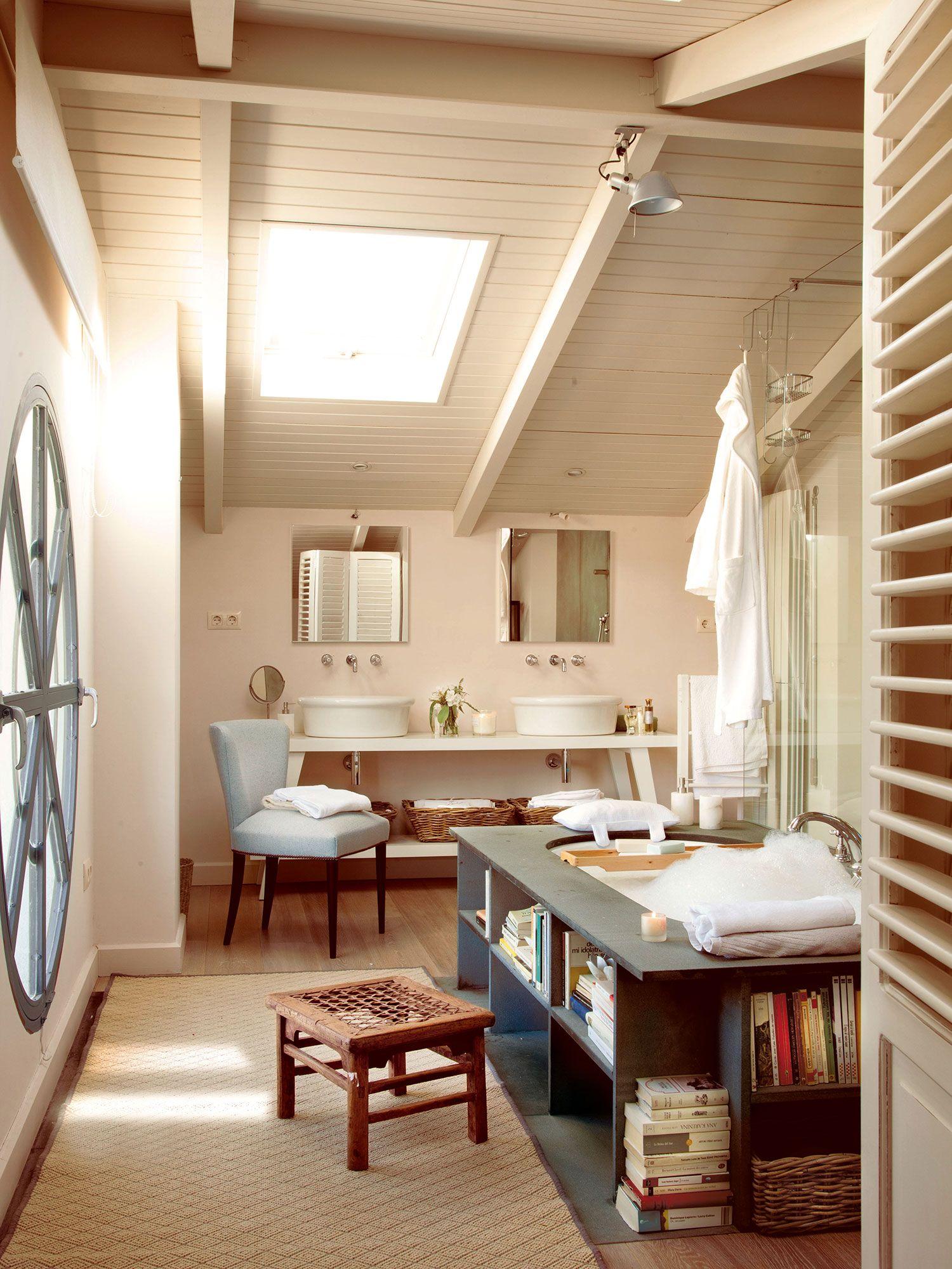 Un baño de lectura | Casas, Casas acogedoras y Diseño de ...