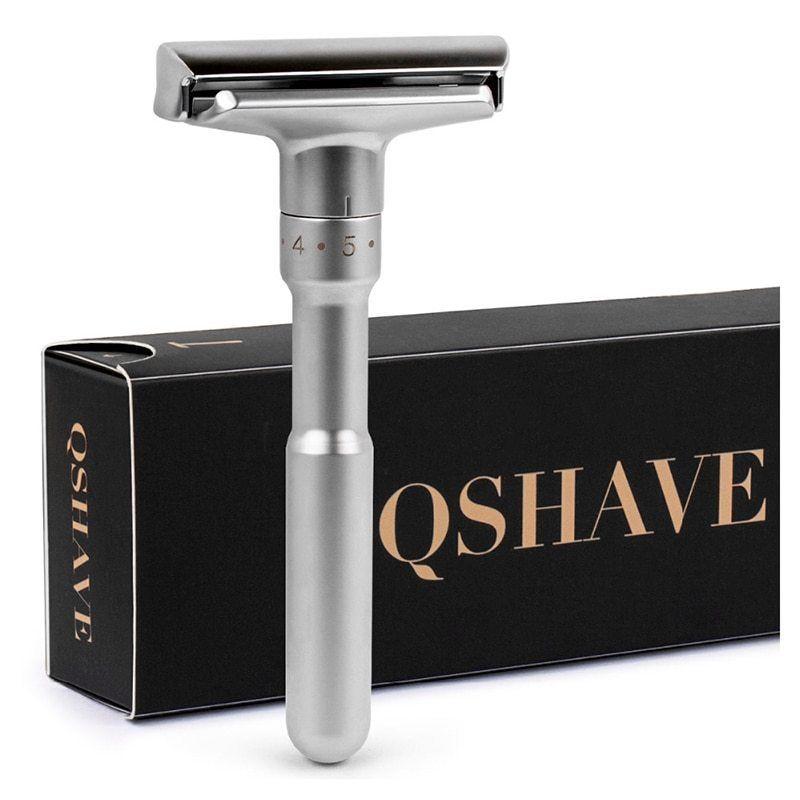 Adjustable safety razor double edge classic mens shaving