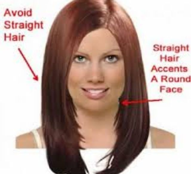 Hair Styling Tips For A Round Face Hair In 2019 Round