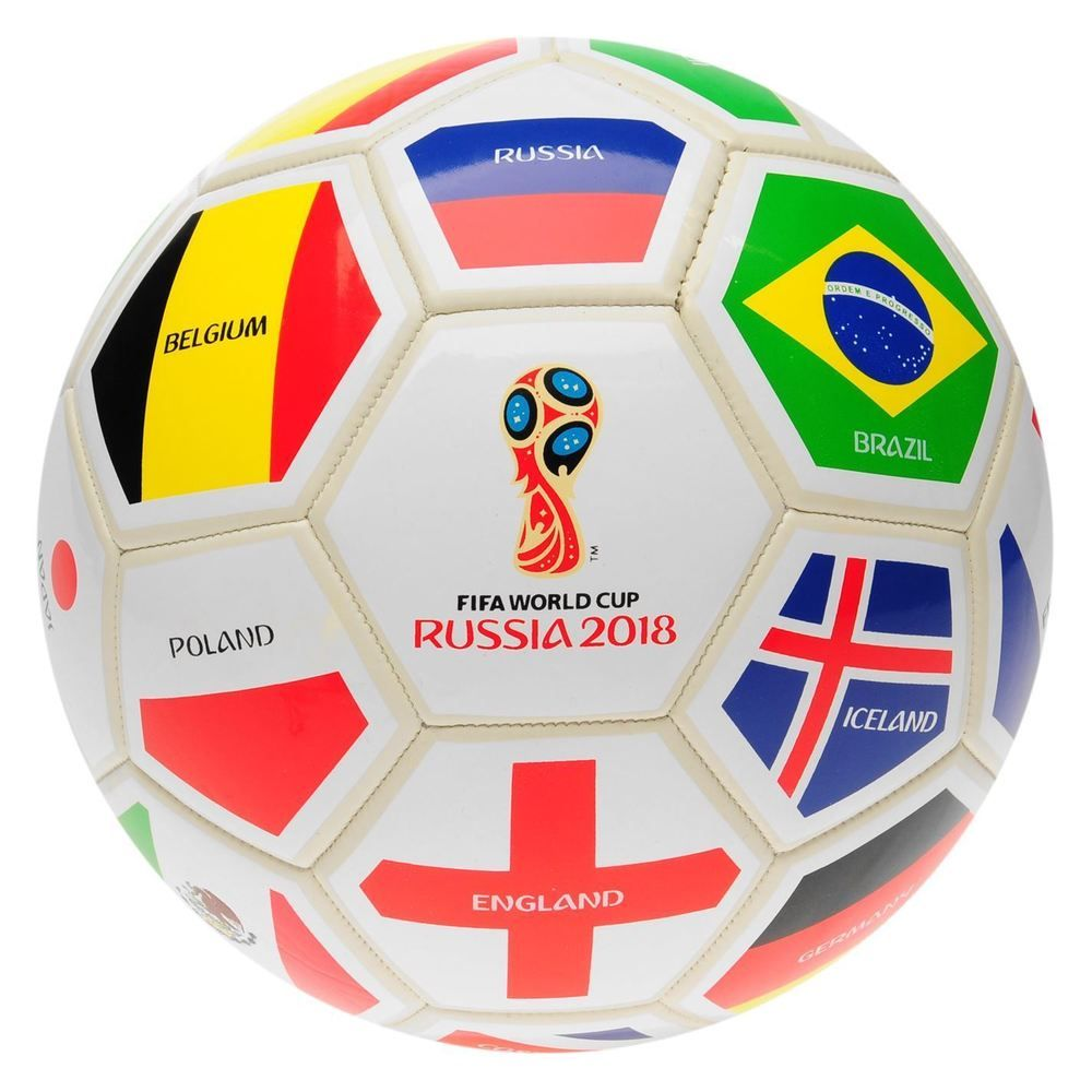 FIFA World Cup 32 Nations Football White/Multi Soccer Ball ...