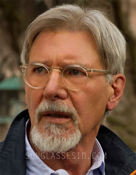f01abe22d230 Harrison Ford wears Oliver Peoples Gregory Peck eyeglasses in The Age Of  Adeline