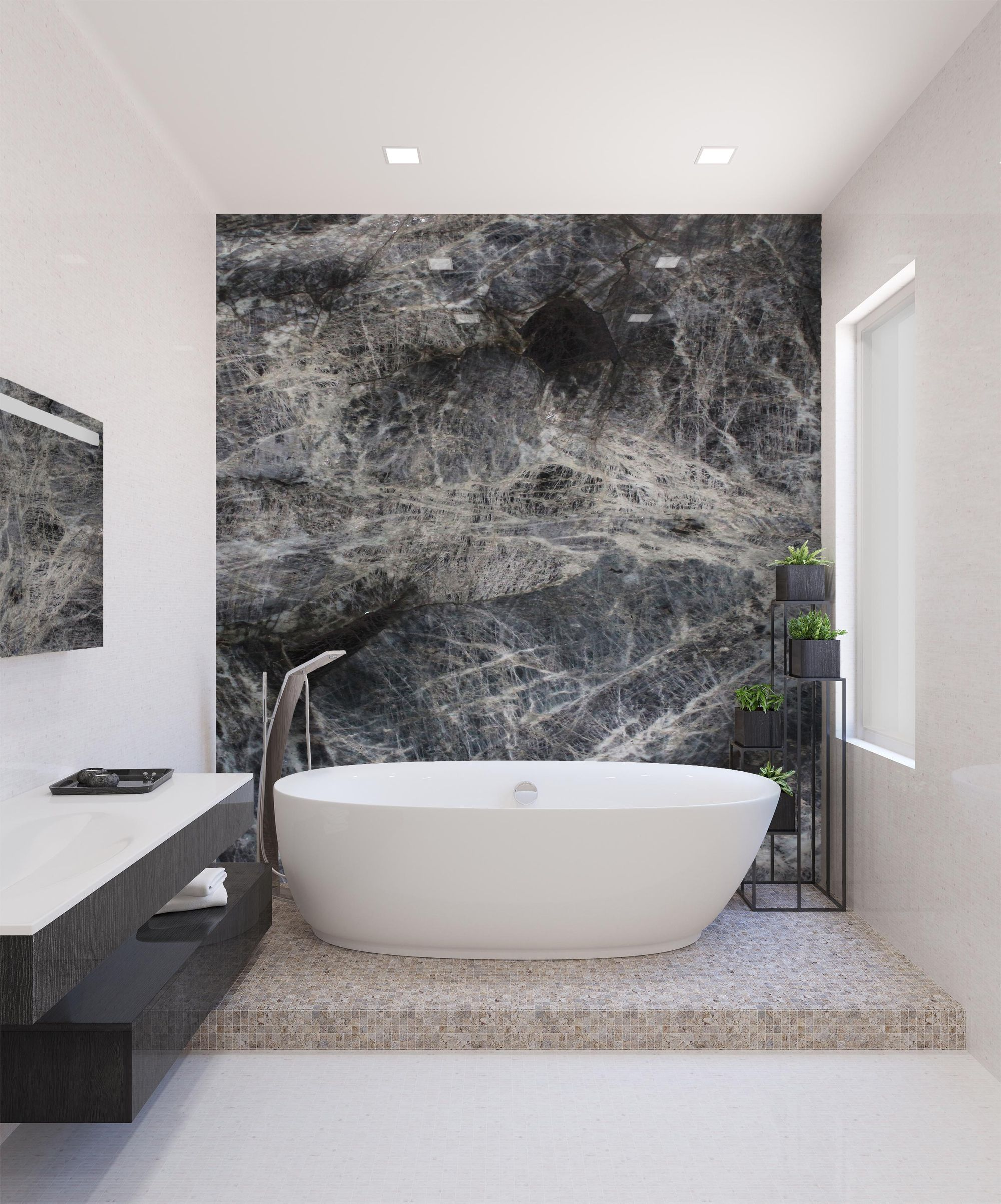 No Better Way With Natural Stone In Your Bathroom Baobab