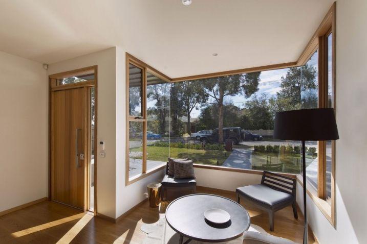 Maison contemporaine avec un intérieur moderne | Construction