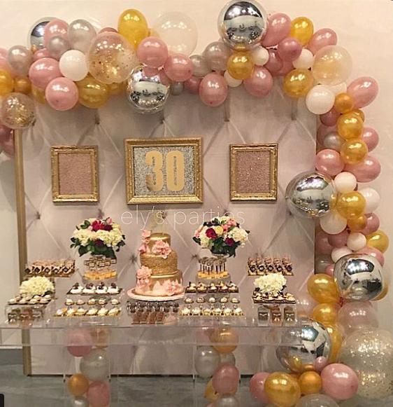 101 fiestas tips para celebrar tus 30 a os temas de for Decoracion 30 cumpleanos
