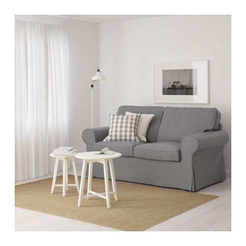 EKTORP 2er-Sofa, Nordvalla hellblau Living rooms, Room and - ikea ektorp gra