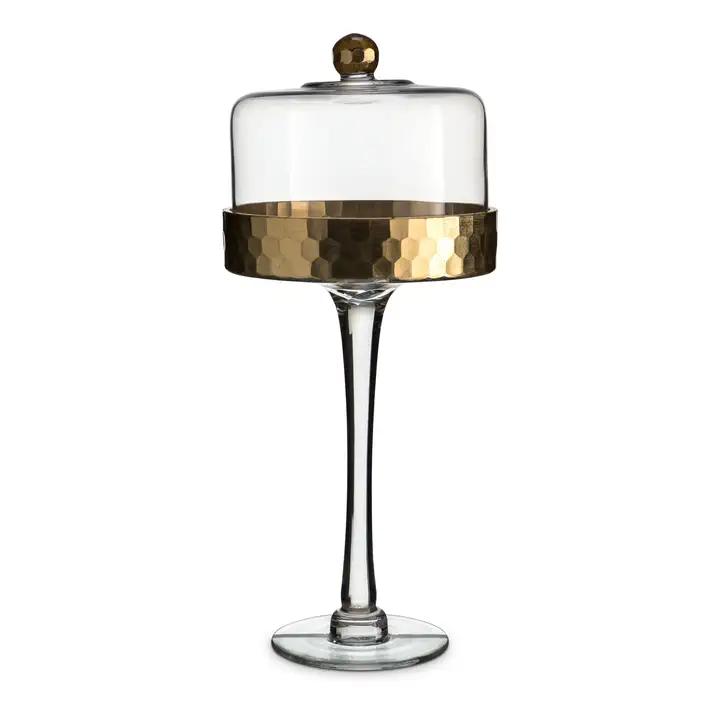 Noel Glas Etagere Etagere Glas Gedeckter Tisch Dekoration
