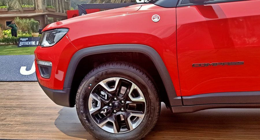 Jeep Compass Trailhawk Review First Bs6 Diesel Suv With Images