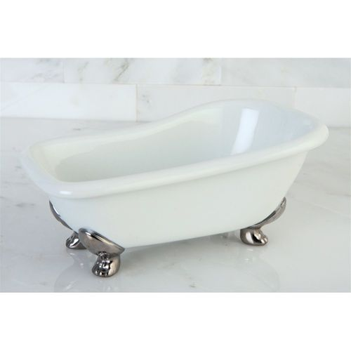 7 Mini Clawfoot Tub Bathroom Soap Holder