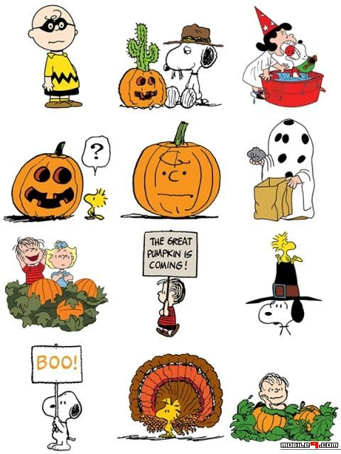 Snoopy's Harvest Facebook Stickers - Halloween Chat Stickers for Whatsapp, LINE, Messenger, WeChat & more. | For more chat stickers, download this app from Google Play: https://play.google.com/store/apps/details?id=com.mobile9.messaging