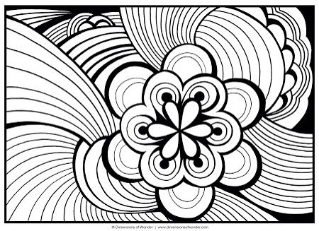 Abstract Adult Colouring Pages Free Online Printable Coloring Sheets For Kids Get The Latest Images