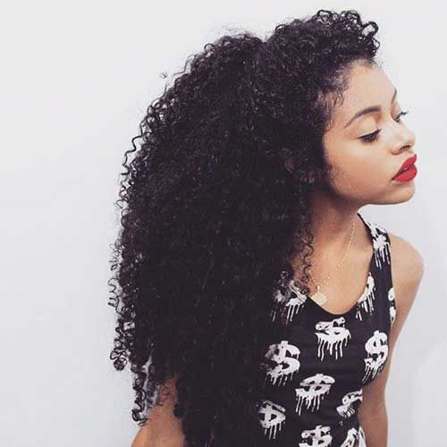 50 Awesome Black Natural Hairstyles for Long Hair