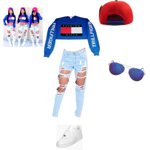 Swag by nette-all-daii on Polyvore featuring polyvore, fashion, style and NIKE