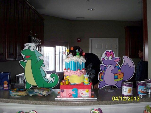 The explorer kids cake Diego or Dora