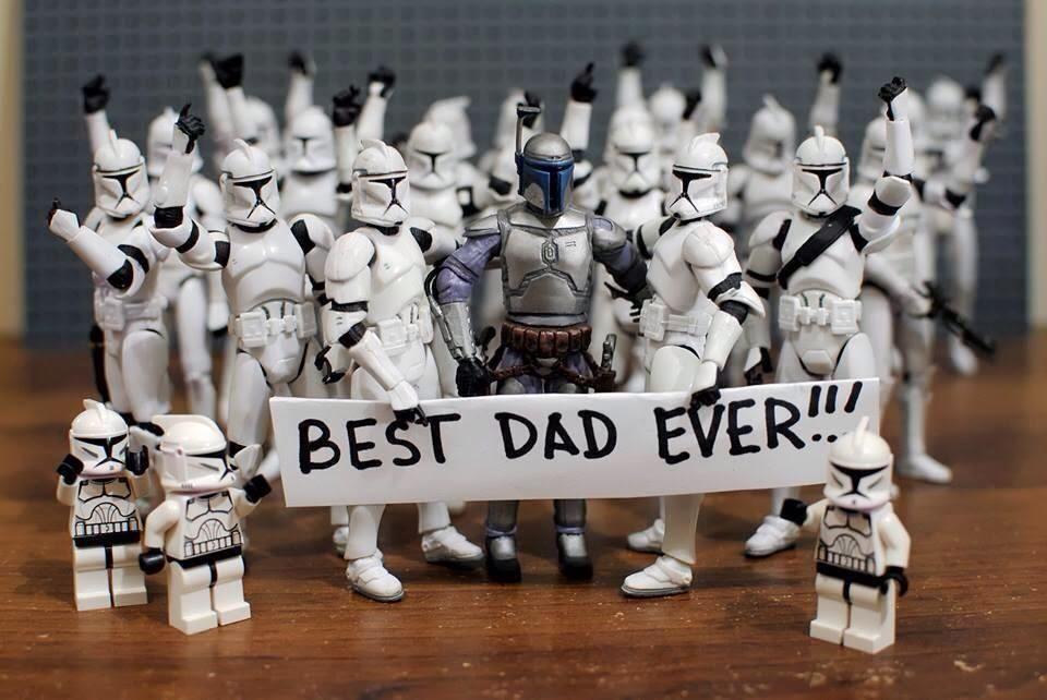 Best Dad Ever Star Wars Humor Star Wars Memes Star Wars Jokes
