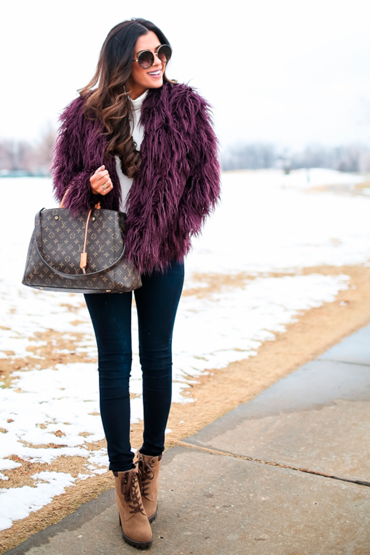 Simple, But Extra Winter Outfit | The Sweetest Thing