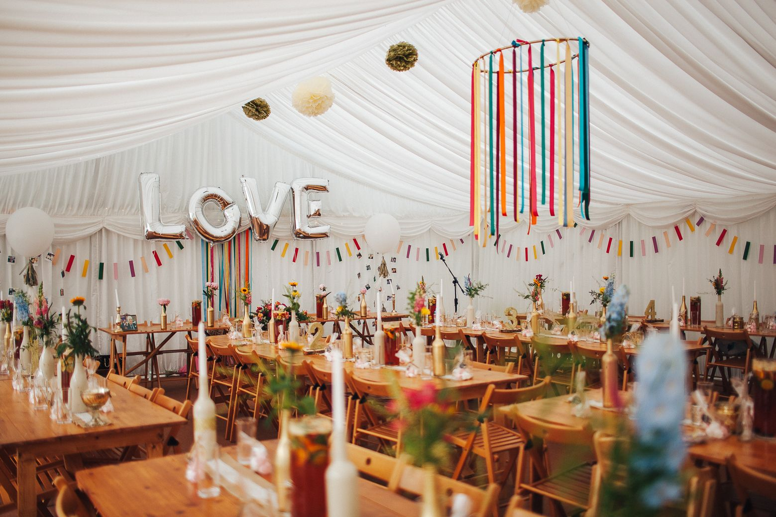 Colourful marquee wedding decor lancashire wedding venue spring lancashire wedding photographer offering beautiful relaxed wedding photography for venues in manchester cheshire yorkshire and the north west junglespirit Images