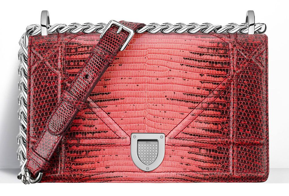 715723472446 Christian Dior Diorama Bag Lizard