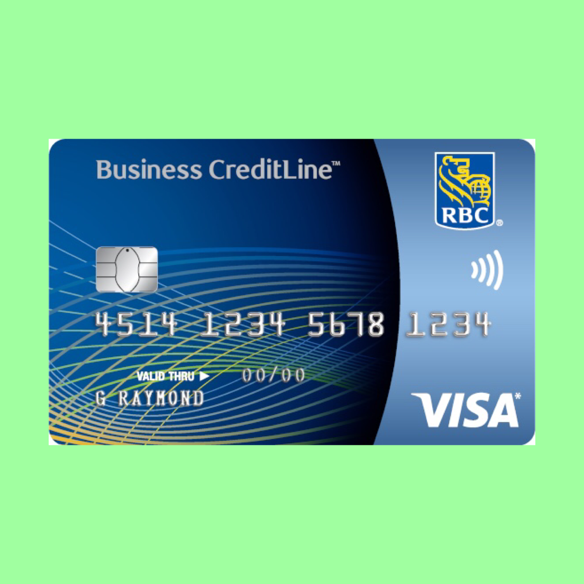 Rbc Visa Creditline Business Card The Point Calculator Small Business Cards Business Reward Card