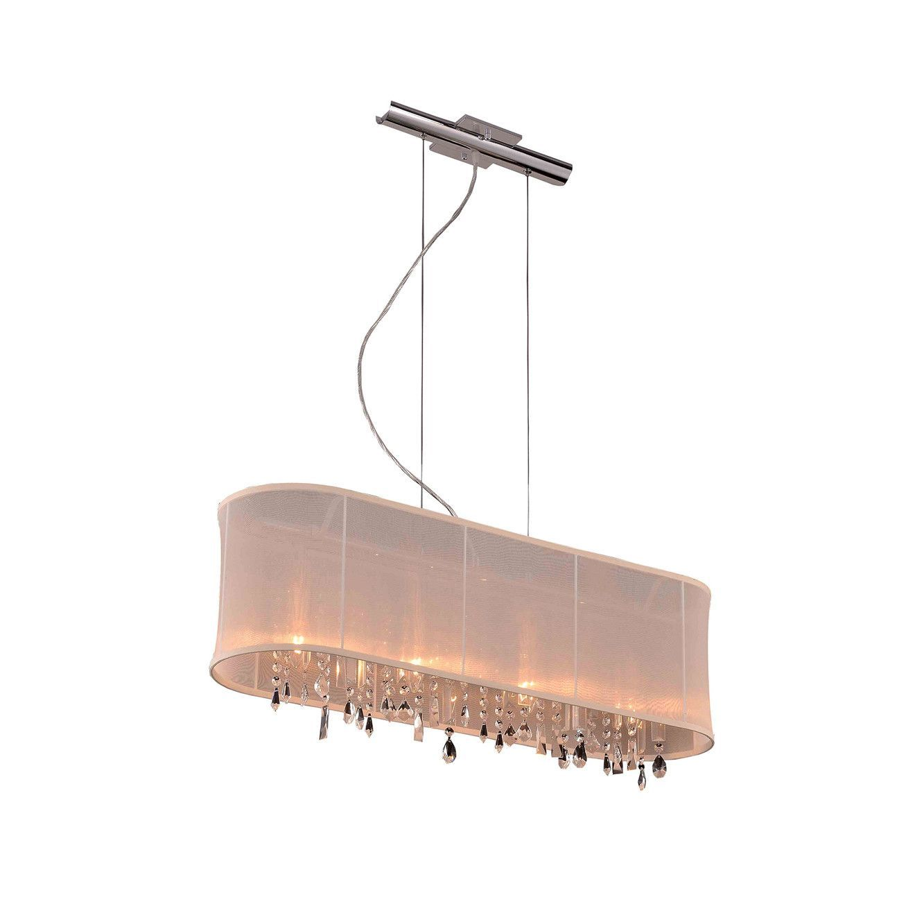 Elegant lighting dcrc harmony collection hanging fixture w