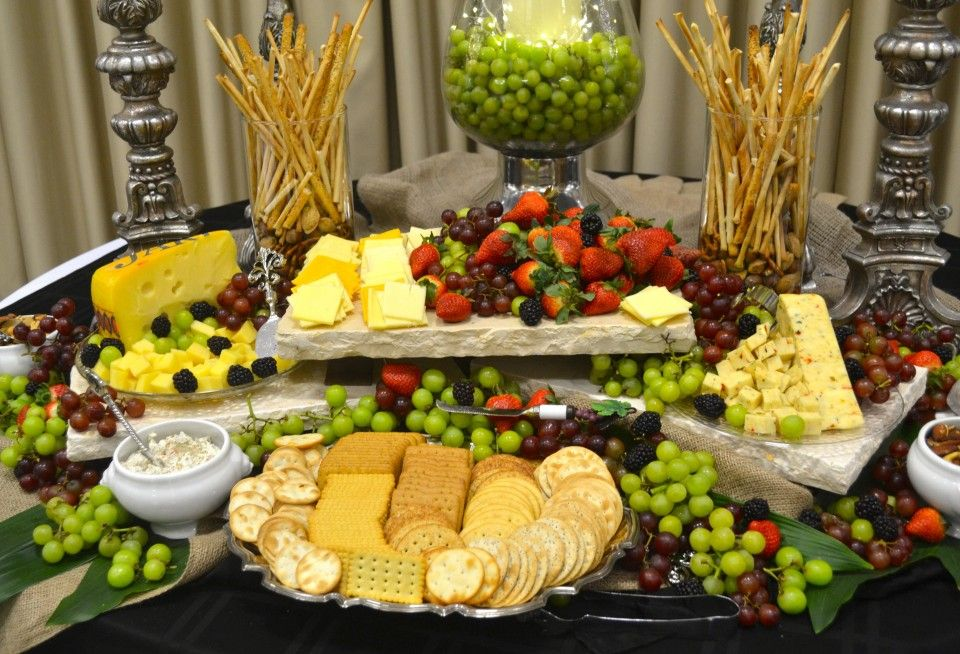 Cheese Board Hors Devours Appetizers Buffet Food Food