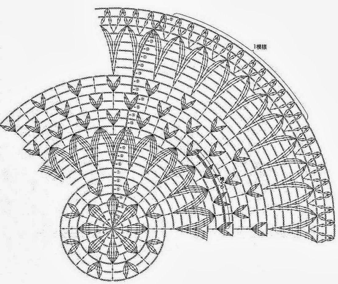 Ideas para el hogar chalecos 000 crochet diagramas pinterest sweater crochet circle vest pattern chic vest for women bankloansurffo Image collections